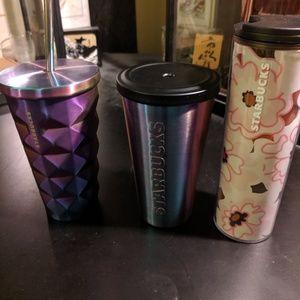 Starbucks Tumbler Lot